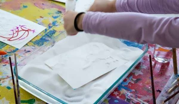 انواع مختلف نقاشی کودکانه با آبرنگ
