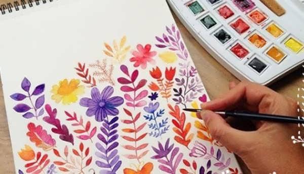 آموزش نقاشی با آبرنگ به روشی ساده