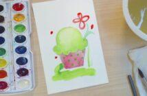 آموزش نقاشی با آبرنگ برای کودکان به روشی ساده