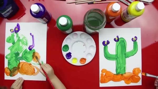 آموزش نقاشی با آبرنگ