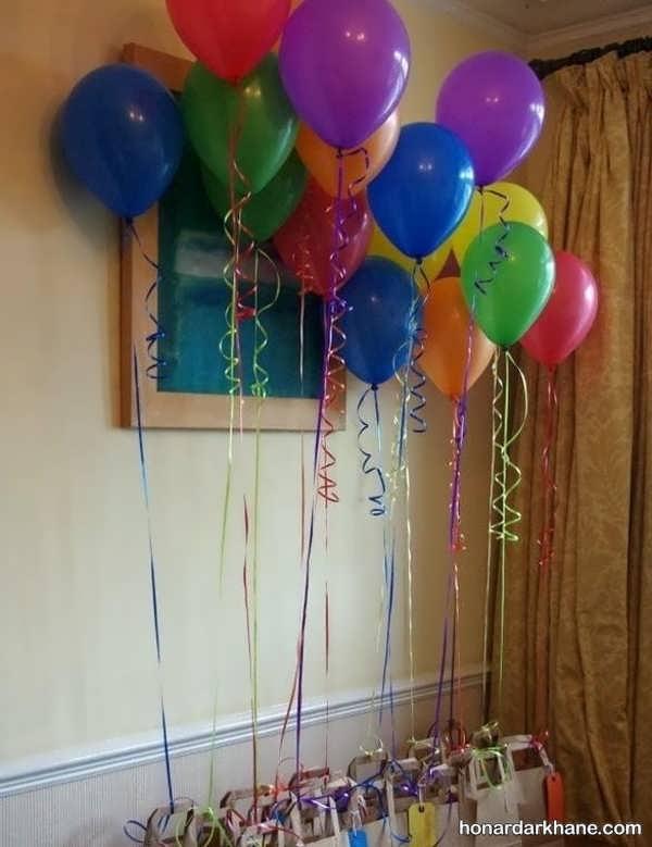 انواع تزیین شیک و جذاب بادکنک برای تولد