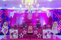 انواع برگزاری جشن تولد دخترانه با تم تولد باربی