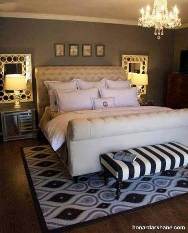 مدل های زیبا و مدرن طراحی نور اتاق خواب