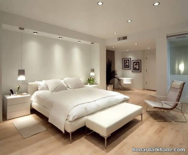 انواع دیزاین نور شیک اتاق خواب