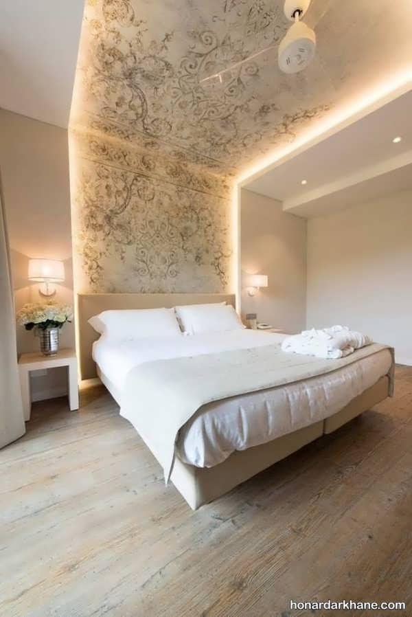 انواع سبک های جدید طراحی نور اتاق خواب