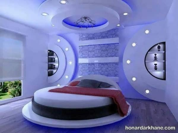 ایده های جالب و جدید نورپردازی اتاق خواب
