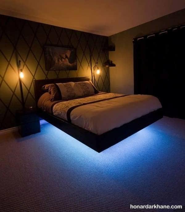 انواعایده های خاص نوردهی اتاق خواب