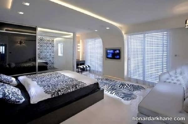 ایده های جالب و مدرن طراحی نور اتاق خواب