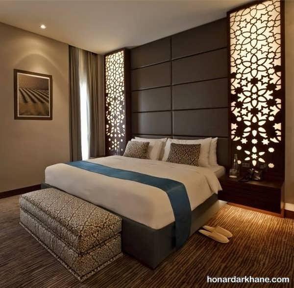 ایده های جالب نورپردازی اتاق خواب