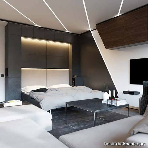 انوذاع نوردهی اتاق خواب با سبک های جالب