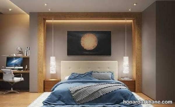 انواع مختلف نورپردازی اتاق خواب