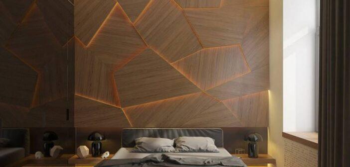 مدل های شیک و خاص نورپردازی اتاق خواب