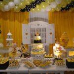 انواع برگزاری جشن تولد با تم تولد زنبوری