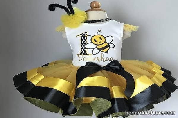 مدل های زیبا برگزاری جشن تولد با تم زنبور عسل