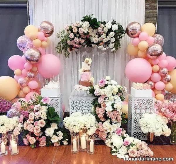 انواع دیزاین جالب گل برای تولد