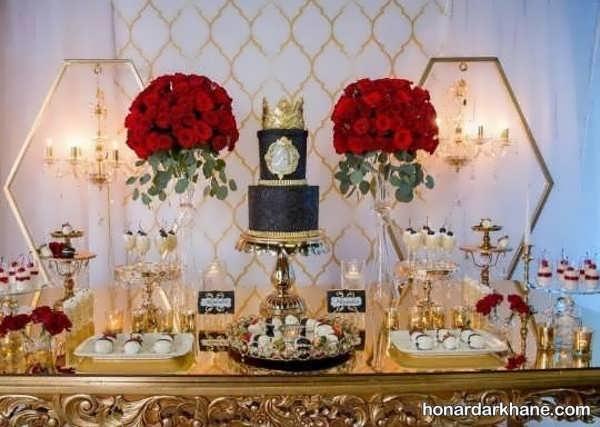 انواع تزیین گل زیبا و جدید برای مراسم تولد