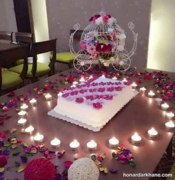 انواع گل آرایی تولد با ایده های جالب