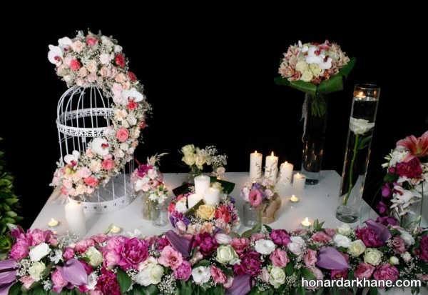 انواع تزیین گل زیبا و خاص برای جشن تولد