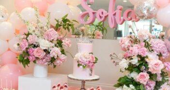انواع گل آرایی تولد به سبک های جذاب و زیبا