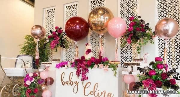 انواع زیبا سازی گل برای جشن تولد