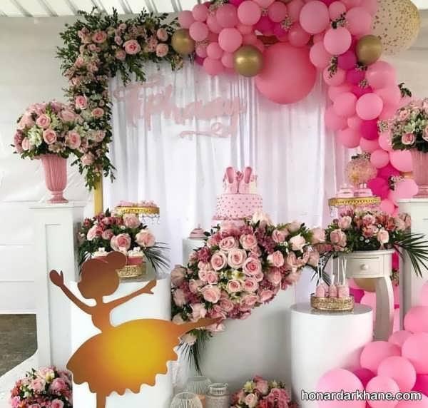 مدل های خاص و جدید تزیینات گل برای تولد