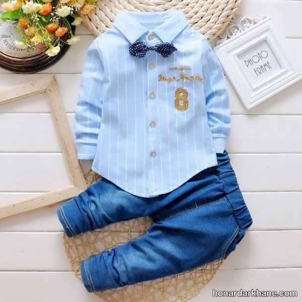 انواع جدید لباس کودک زیر دو سال