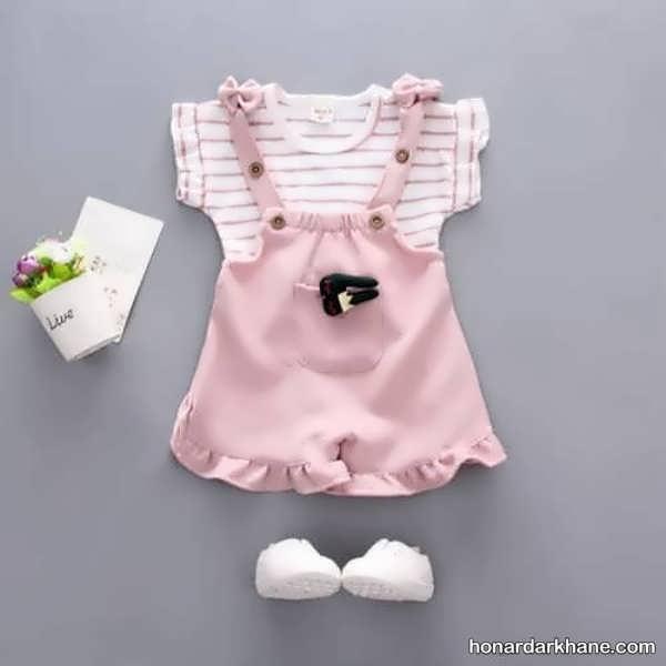 انواع لباس کودک جذاب و جدید زیر دو سال