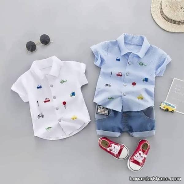 انواع جدید و متنوع لباس کودک زیر دو سال