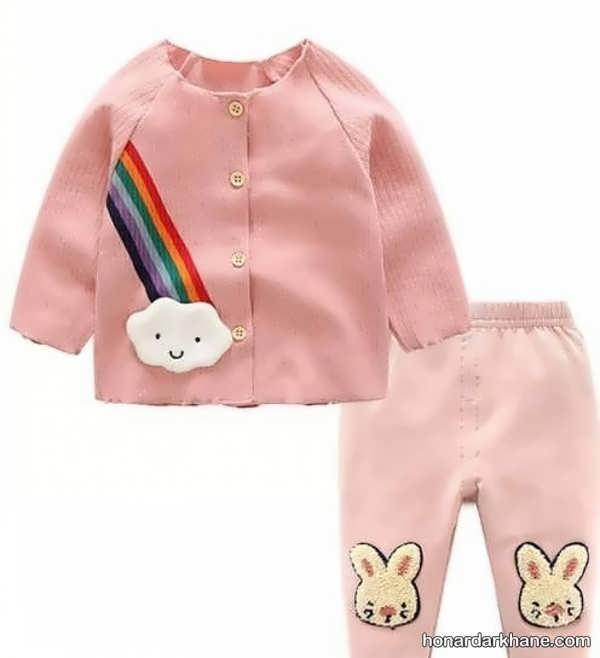 انواع لباس کودک زیبا و جدید زیر دو سال