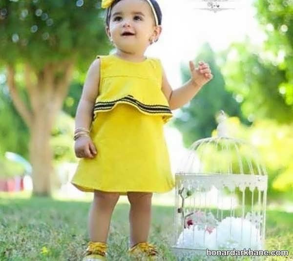 مدل های جذاب لباس کودک زیر دو سال