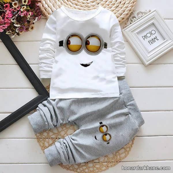 انواع لباس راحتی کودک زیر دو سال