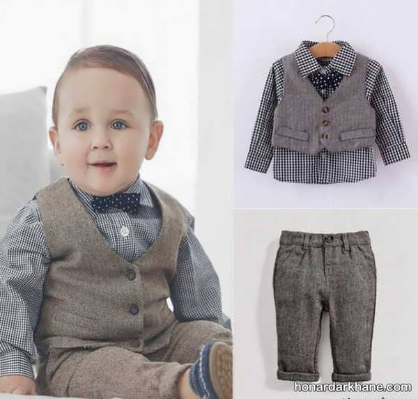 انواع مختلف لباس بچه گانه زیر دو سال