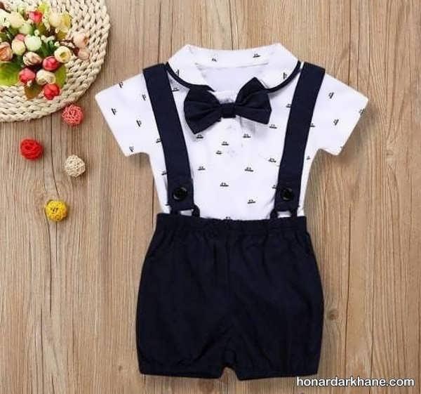 انواع لباس کودک زیر دو سال مجلسی و زیبا