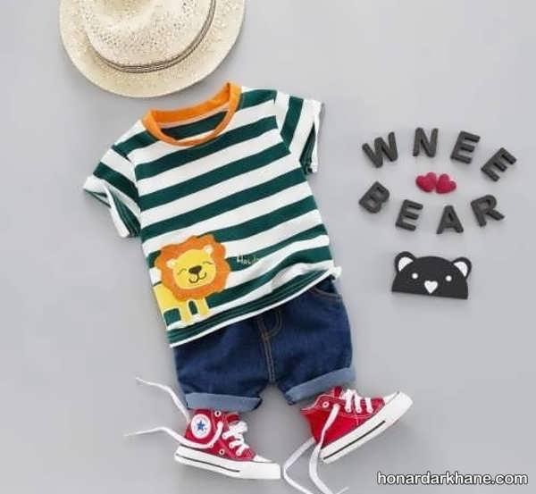 انواع لباس کودک زیبا و جذاب زیر دو سال