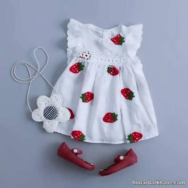 انواع لباس زیبا و جدید بچگانه زیر دو سال