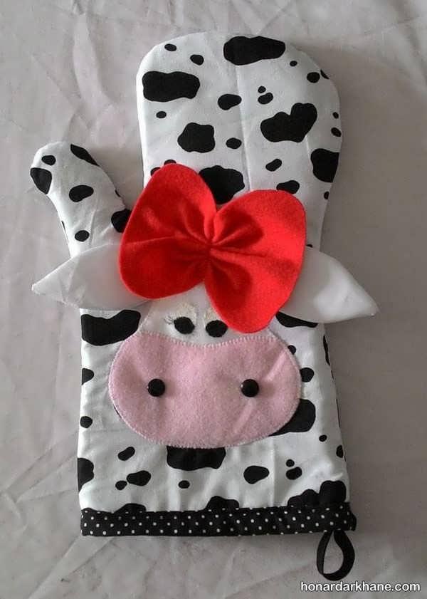 نحوه درست کردن عروسک گاو نمدی