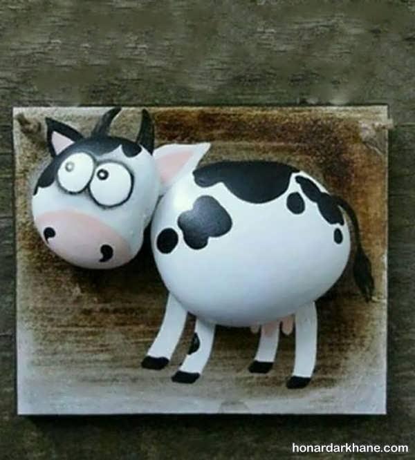 نحوه ساخت عروسک گاو نمدی به روشی ساده