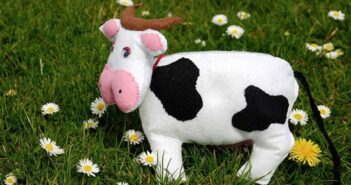 نحوه ساخت عروسک گاو نمدی با مزه