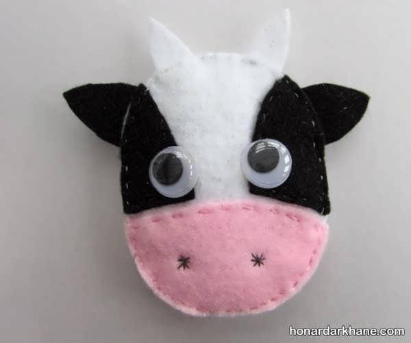 نحوه درست کردن عروسک گاو زیبا