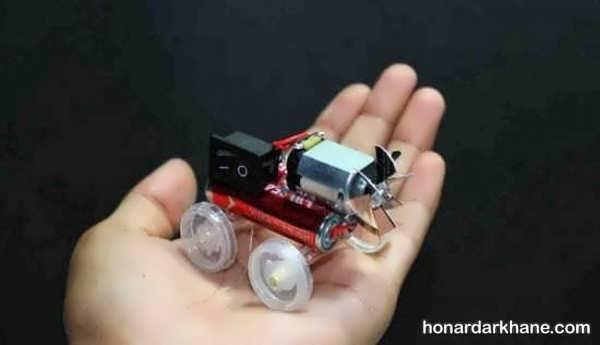 انواع سازه های جالب و زیبا با باتری