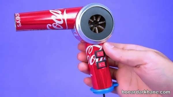 انواع هنر آفرینی جالب و زیبا با باتری