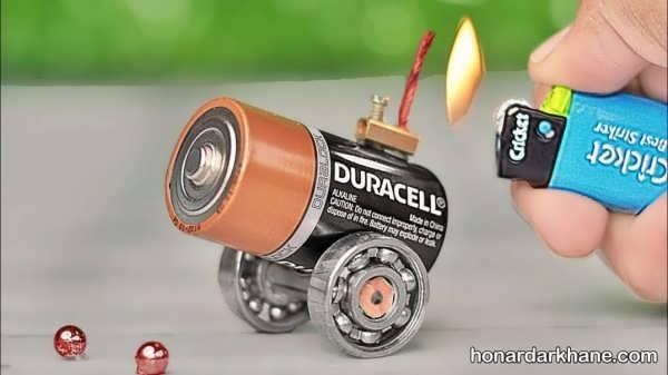 انواع ایده های جالب ساخت کاردستی یا باتری