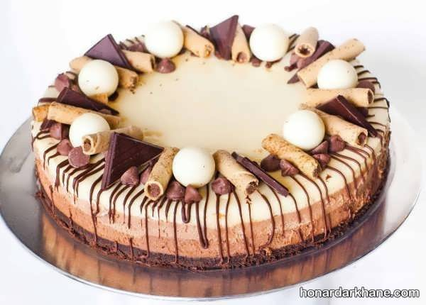 انواع دیزاین جذاب چیز کیک