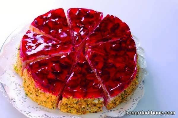 انواع دیزاین جالب چیز کیک