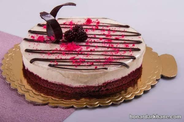 مدل های جدید و جالب دیزاین چیز کیک