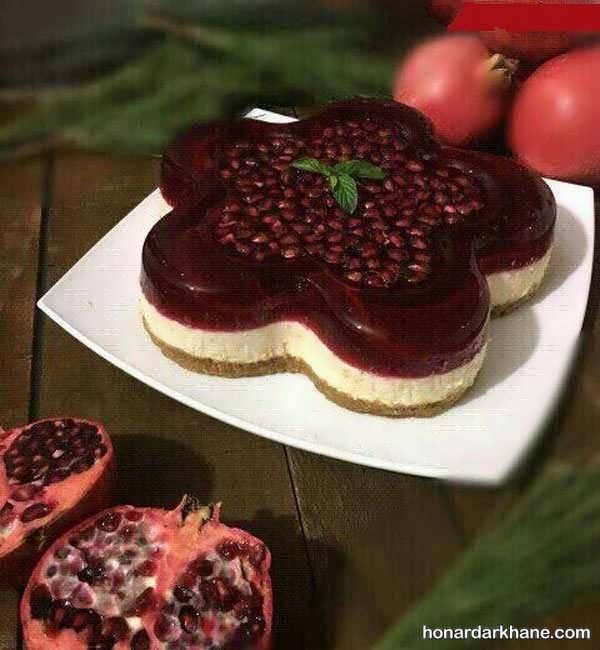 انواع تزیین جالب و شکیل چیز کیک