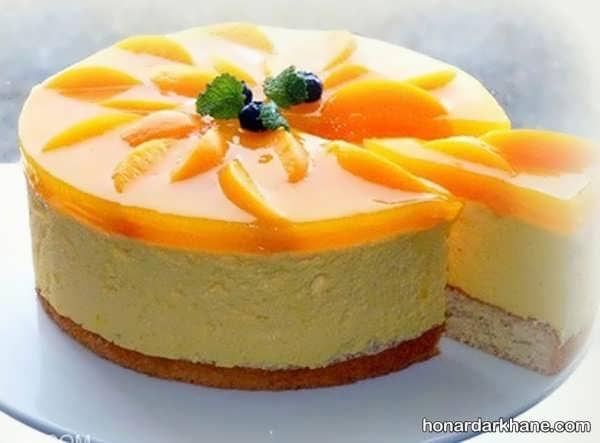 انواع زیبا سازی چیز کیک با ایده های جالب
