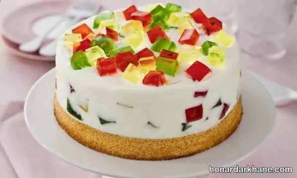 انواع دیزاین جالب چیز کیک با میوه و شکلات