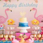 مدل های جالب و زیبا برگزاری جشن تولد با تم تولد فلامینگو