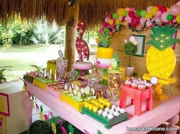 مدل های جذاب برگزاری جشن تولد با طرح فلامینگو